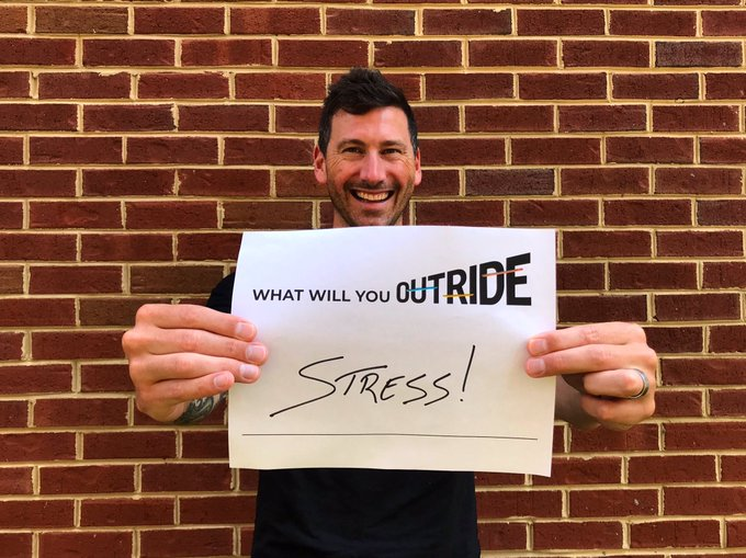 John Glodek launches our social media challenge to OUTRIDE!