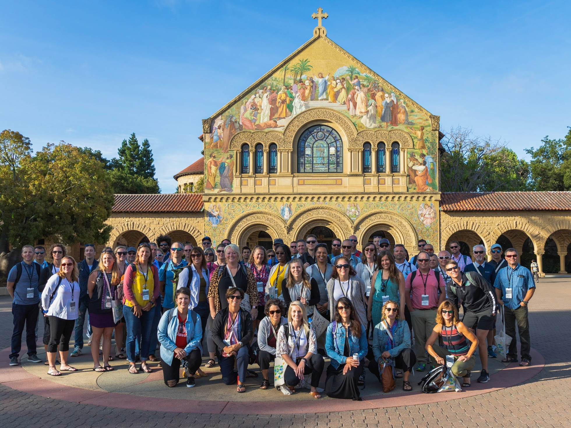 Stanford Students Hosted School Champions for a Special Tour of the Campus to Get Things Rolling!