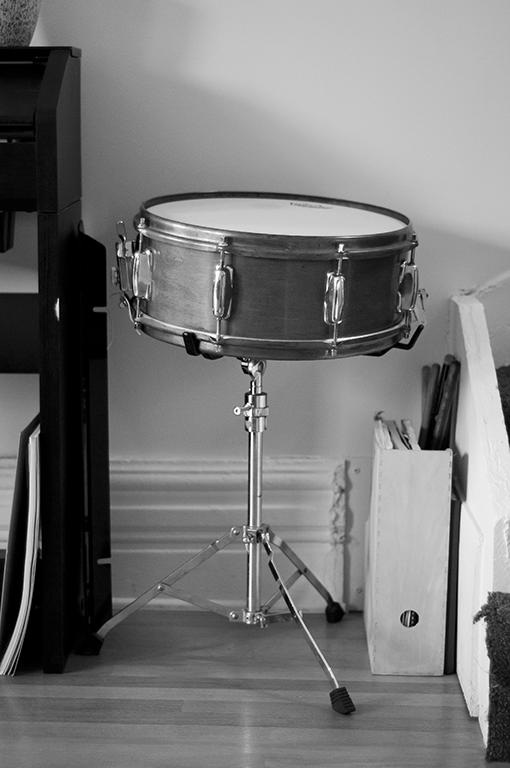 Lynette Gillis' drum