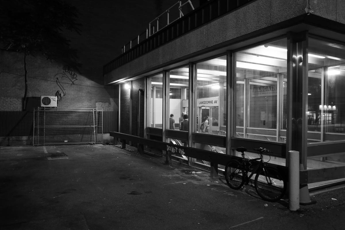 Landsdowne subway station in Toronto