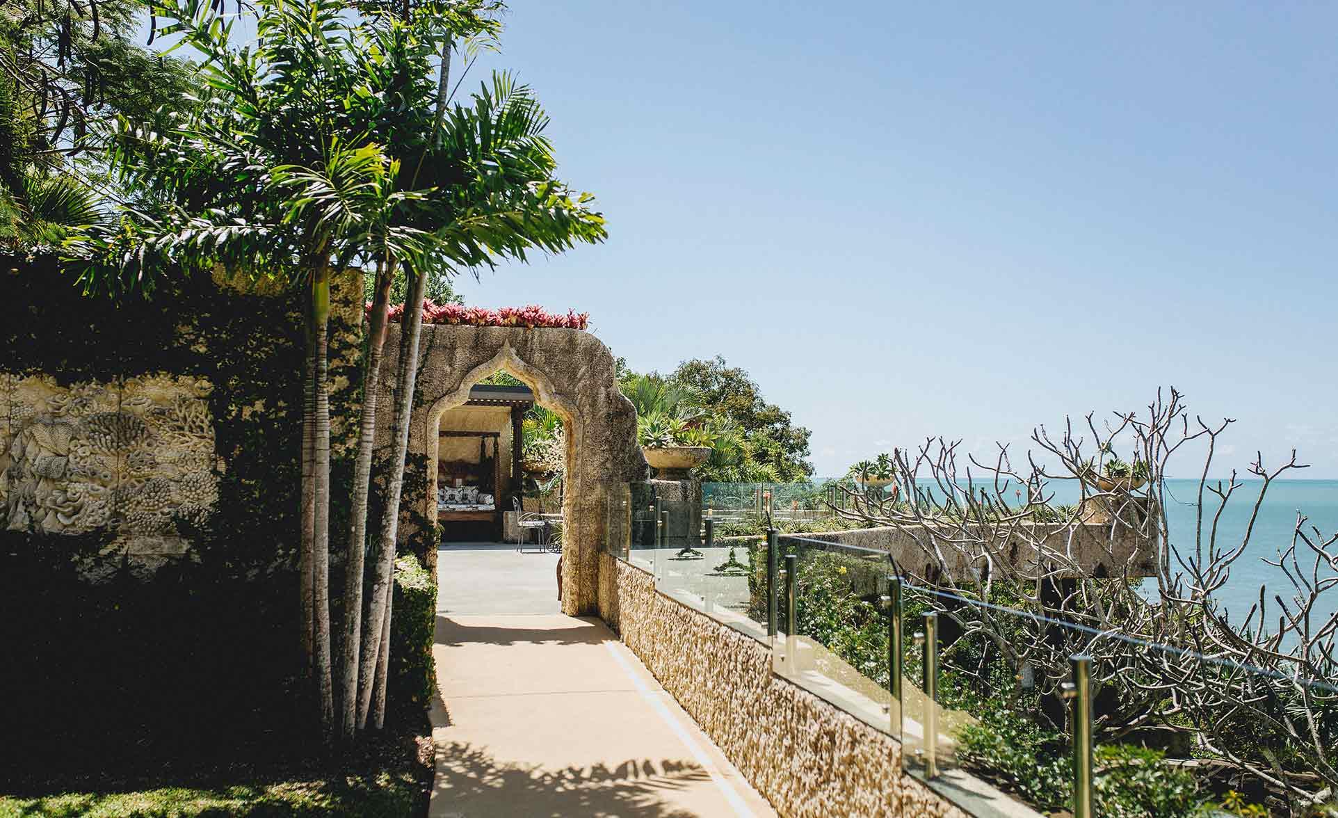 Villa Botanica's ceremony and reception locations