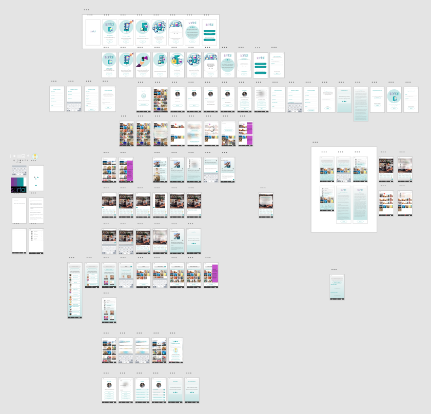 Sortal 1.0 release candidate Adobe XD design