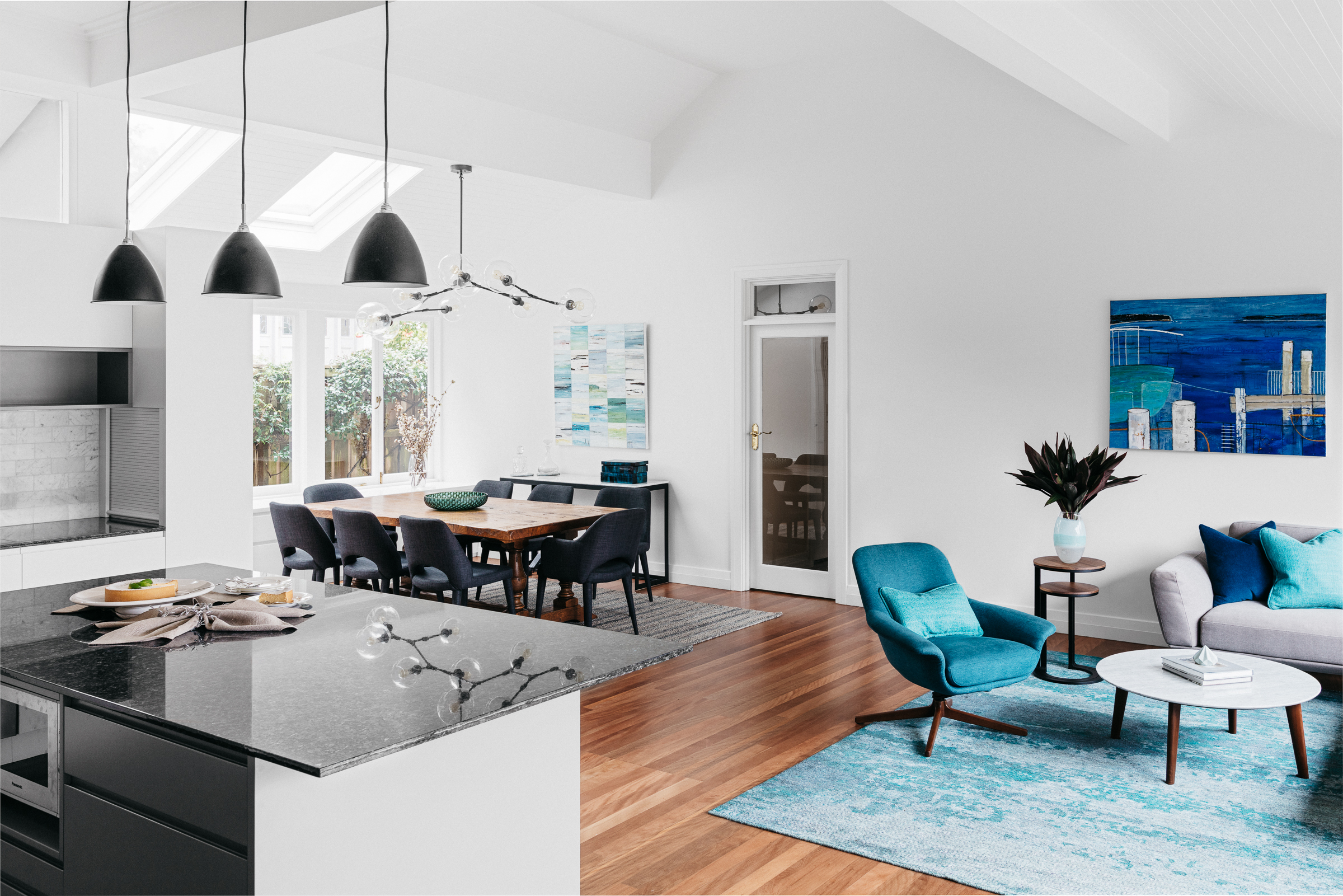 Residential interiors - Woolwich House
