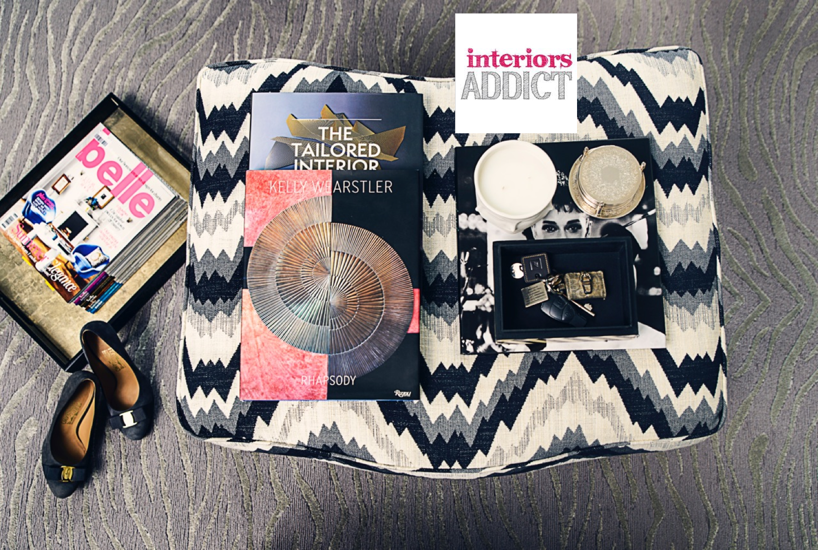 INTERIORS ADDICT  - January 2015  FEATURE: Covet my Coffee Table with Ioanna Lennox