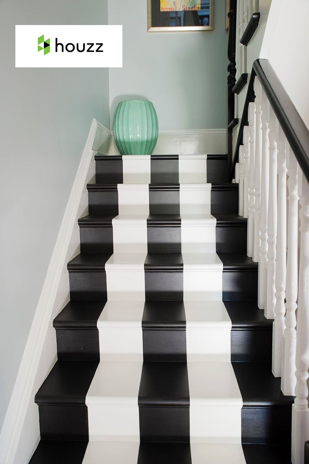 HOUZZ  - September 2014  How to Decorate with Black & White Stripes
