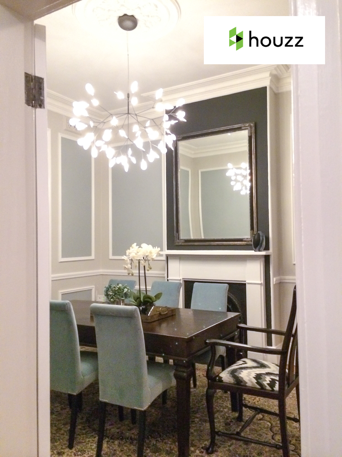 HOUZZ  - December 2015  Pushing the Envelope: 19 Ways to Work a Room