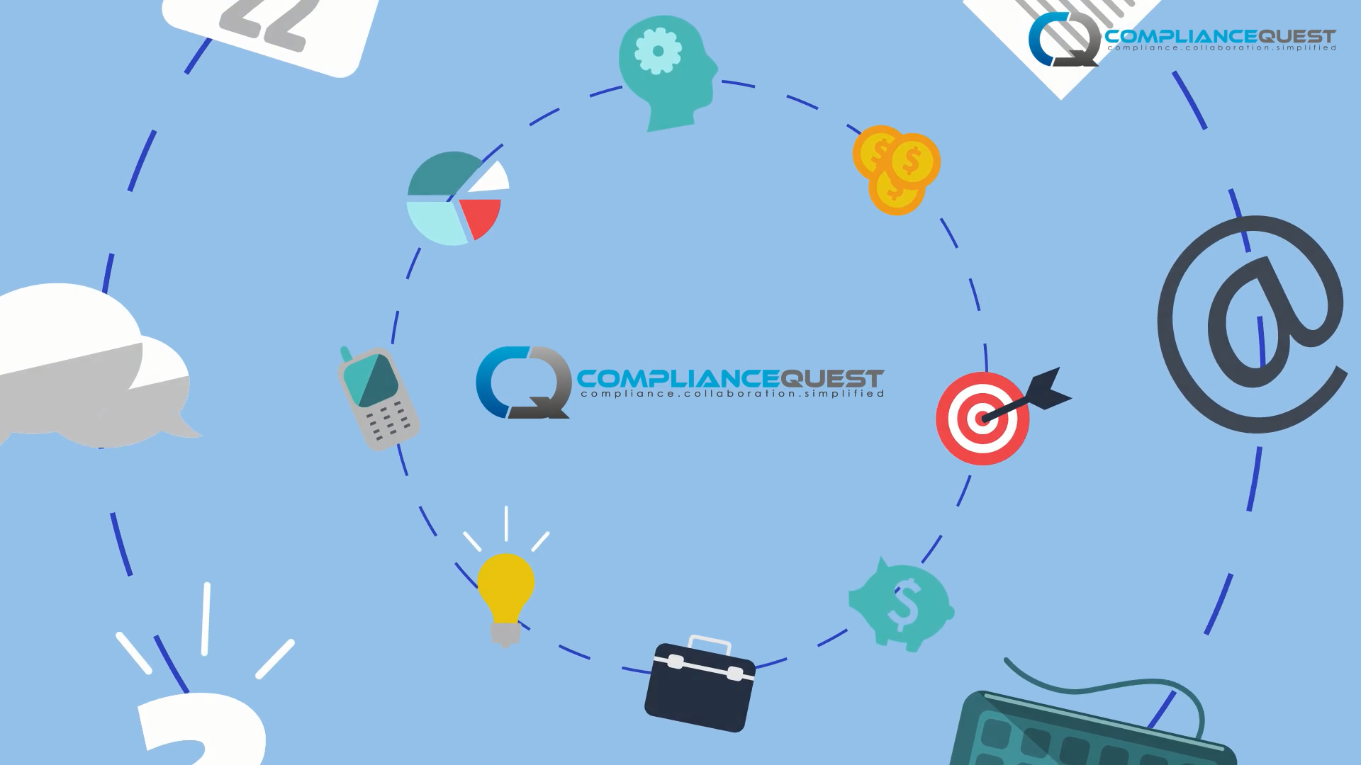 ComplianceQuest Detailed Product Video - Worked on the concept and script for this video. Coordinated closely with the agency to get all the details right.#Video #ContentStrategy #ContentDesign