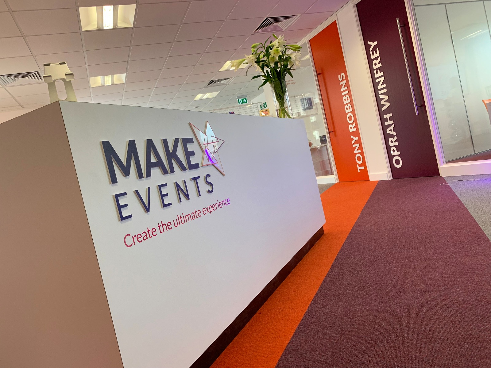 Make Events, Wilmslow.