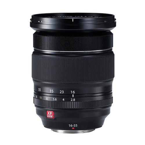 Fujifilm XF 16-55mm f/2.8 R LM WR   The lens I use the most when shooting with the X-T2. Razor sharp images and completely weathersealed.