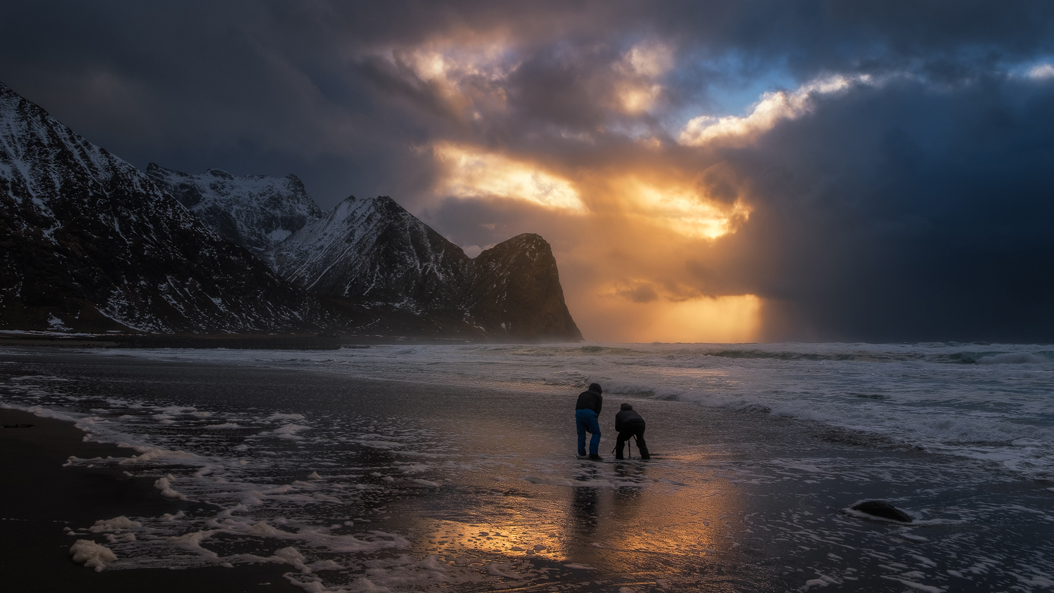 Magical Unstad in Lofoten