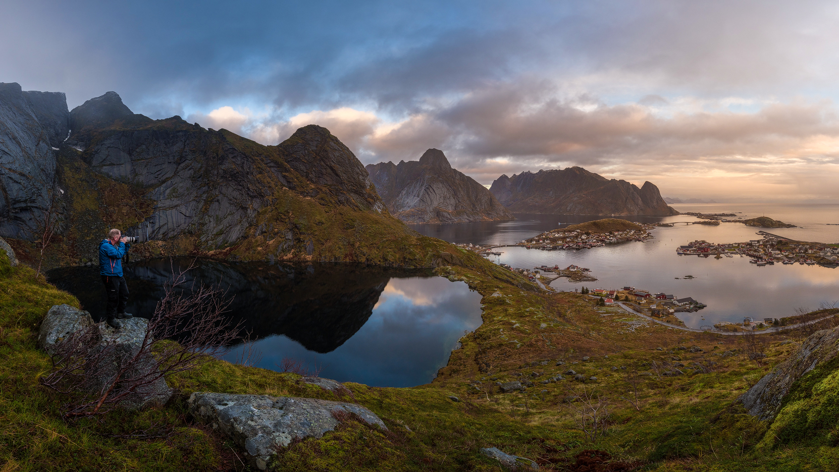 Autumn in Reine, Lofoten