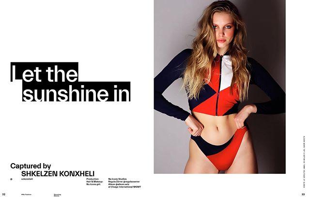 """let the ☀️in"" editorial for @nuiconsmag SPRING SUMMER 19 ISSUE  Photography: @szkonxheli  Model: @alison.uetz @visagemodelszurich  Hair & Makeup: @regulazuerrer Styling: #NUICONSSTUDIOS  Production @grayflawless @b3ss  Products in use: #skin @dermalogicaswitzerland #make-up @smashboxcosmetics @ela0990 #hair @bjornaxen @bo_id #nails @nailberry_  #editorial #magazine #swimsuit #swimwear #work #newwork #glowskin #beautymakeup #mua #makeupobsessed #hairandmakeupbyregula #crueltyfree"