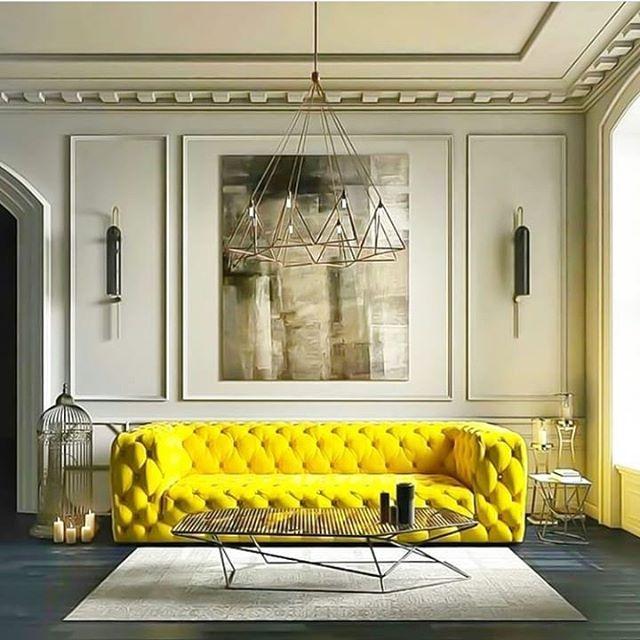 💛💛💛 #yellow #interiors #design #decorating #furniture #colour#love #pinterest