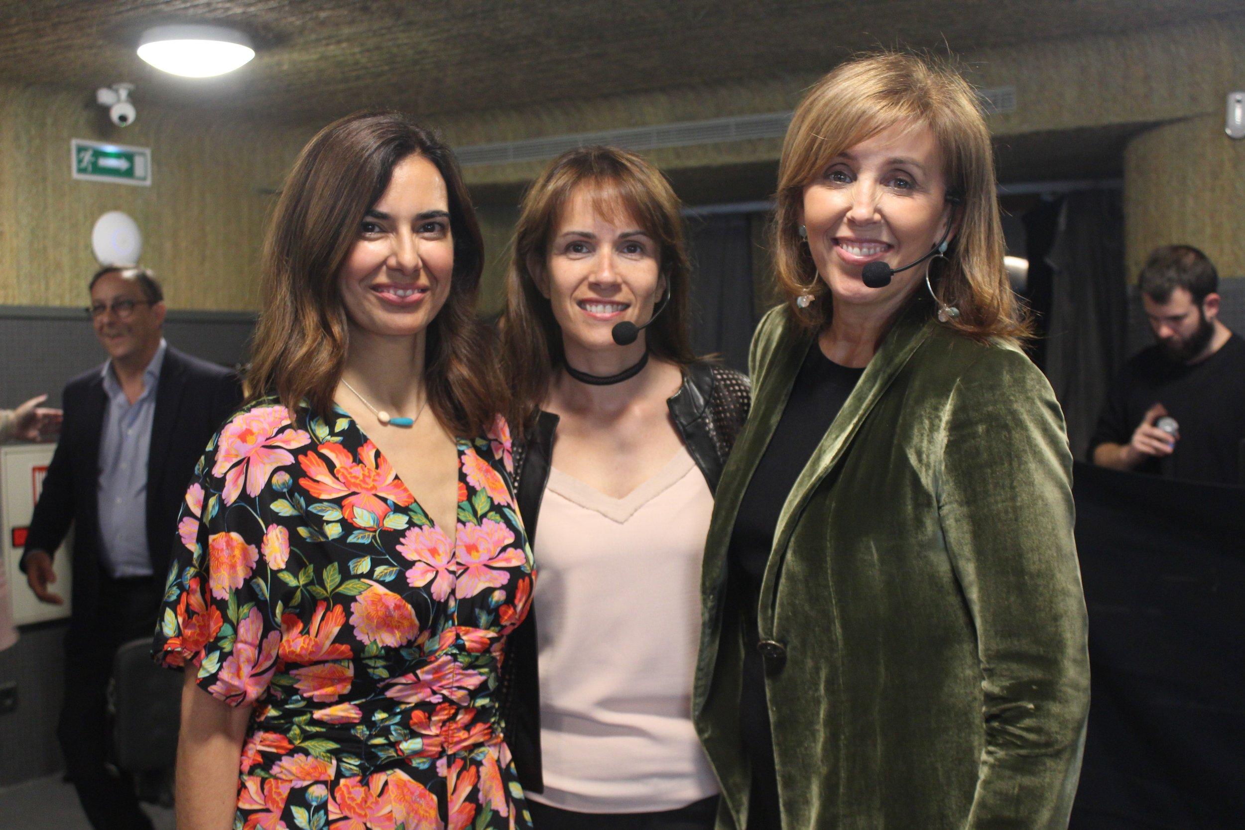 Tamara Kreisler, Angeles Moreno and Natalia Gironella.