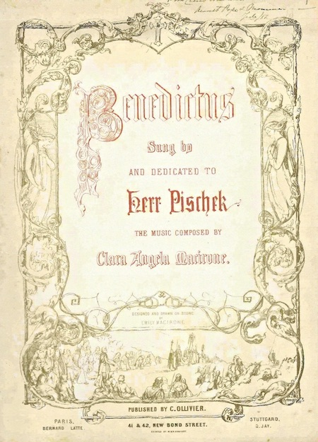 Copy of Clara's Benedictus