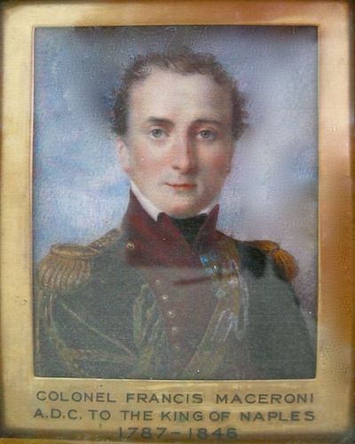 Copy of Colonel Francis Macirone