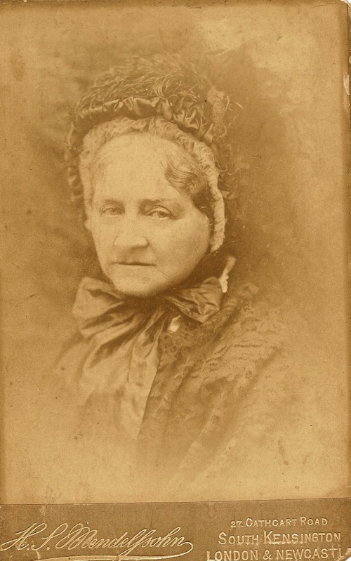 Copy of Clara in old age