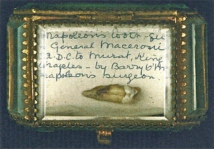 Copy of Napoleon's tooth