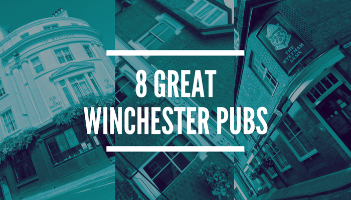 Winchester Bloggers Kelly and James present their 8 great Winchester Pubs