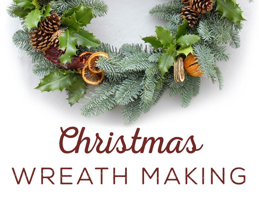 Christmas Wreath Making at The Good Life Farm Shop