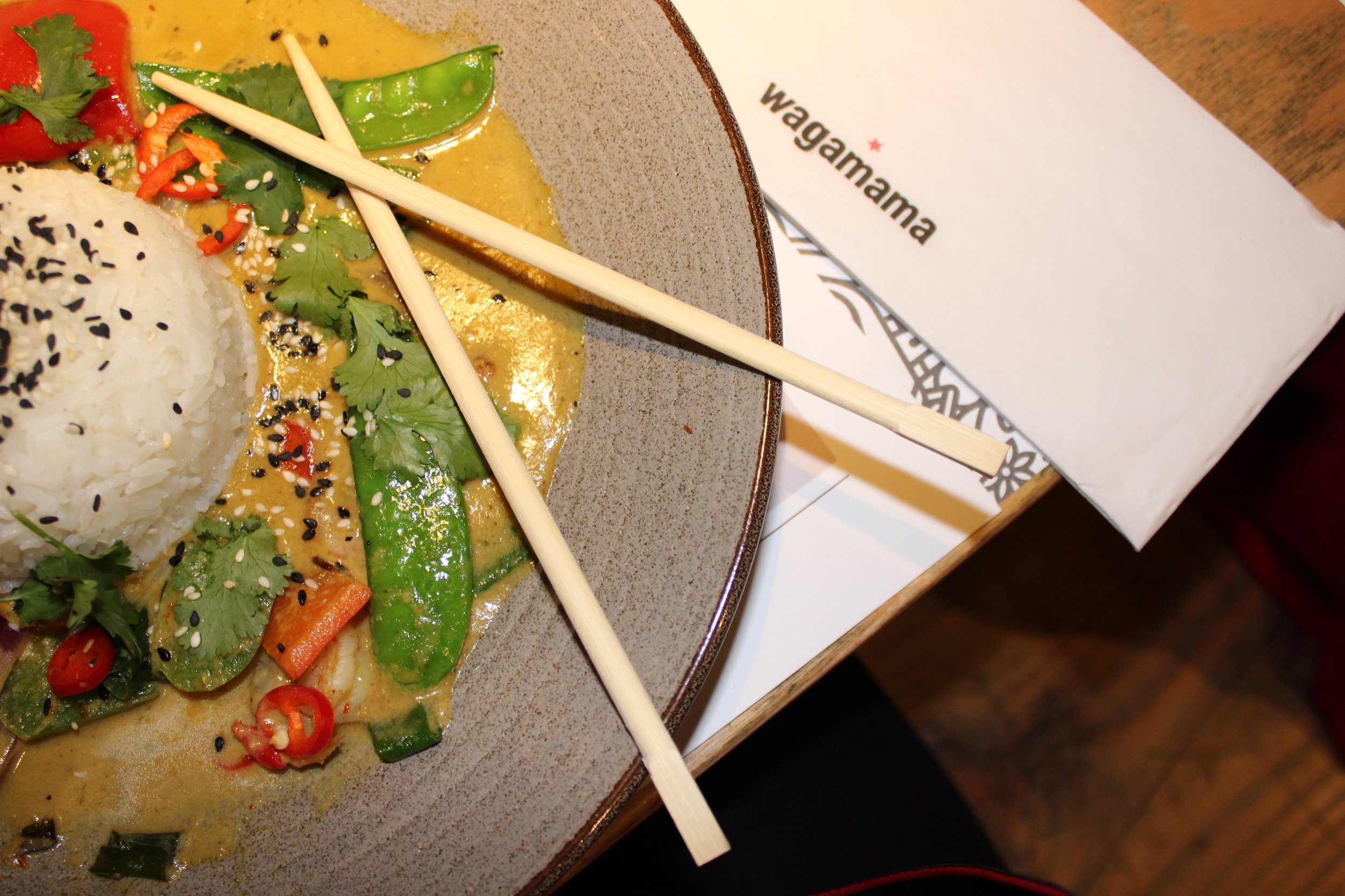 Delicious Wagamama Raisukaree Curry