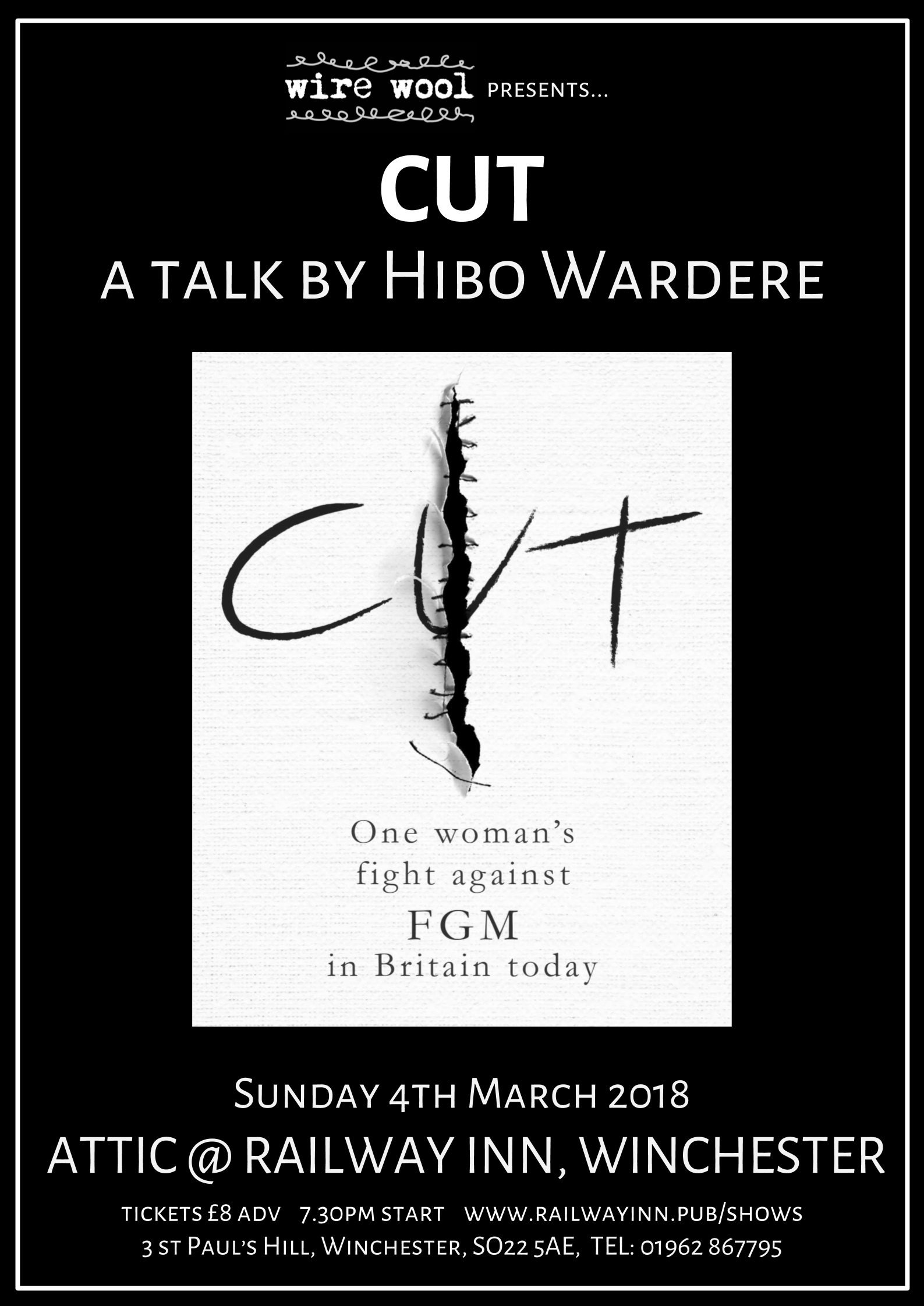 Cut: A talk by Hibo Wardere