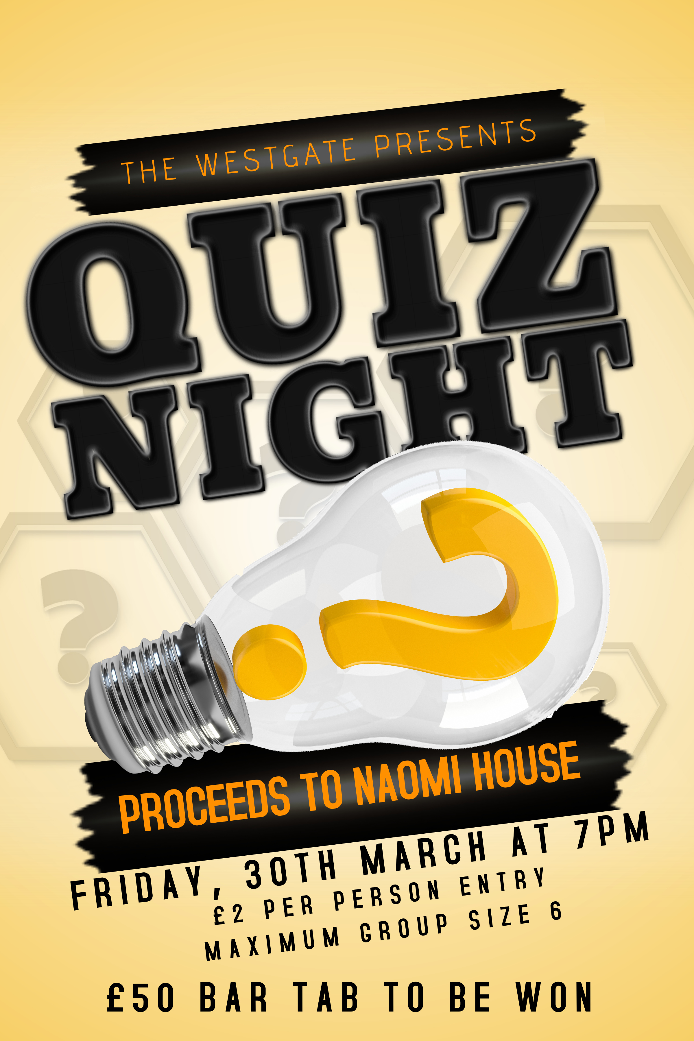 Quiz night at the westgate
