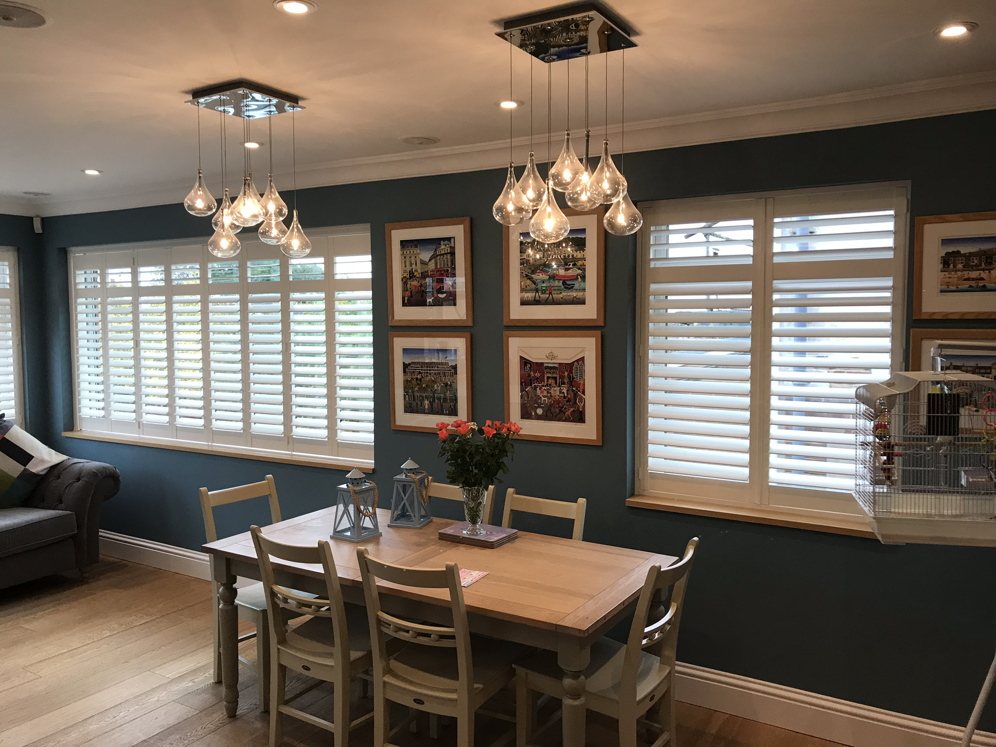 Shutters are attractive and practical