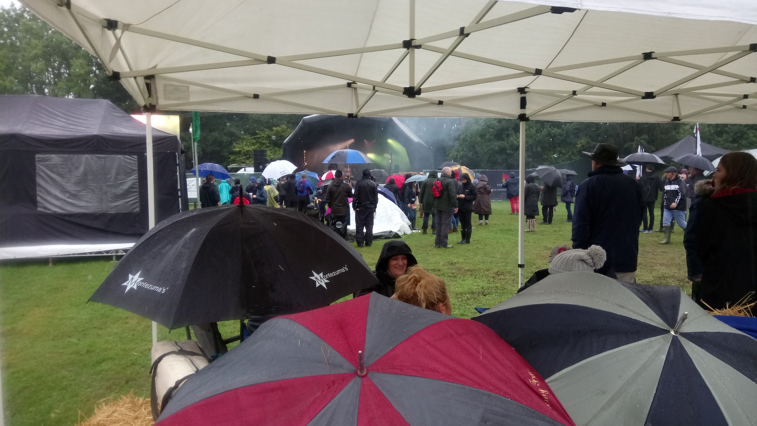 Making the most of it at the Graze Festival!