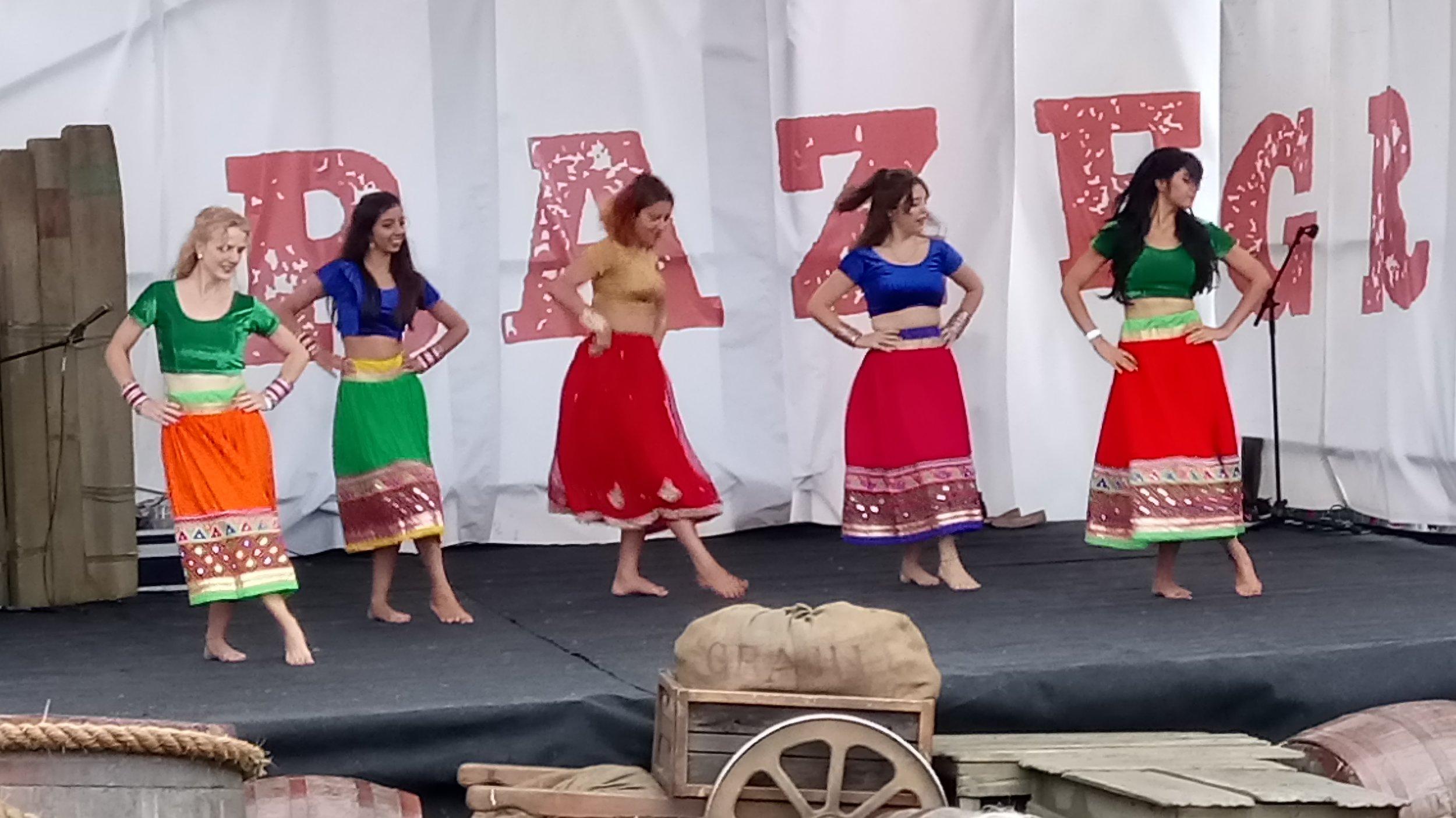 Bollywood dancing at Graze