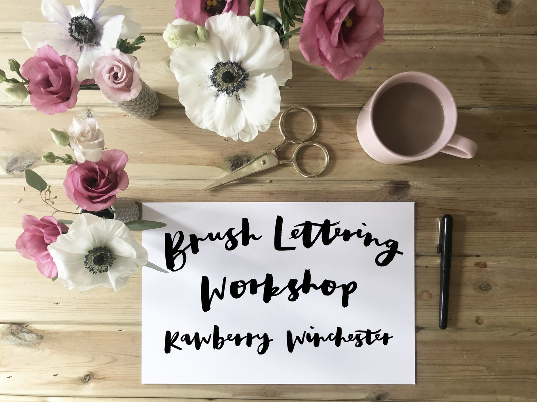 Becki Clarke Brush Lettering Workshop