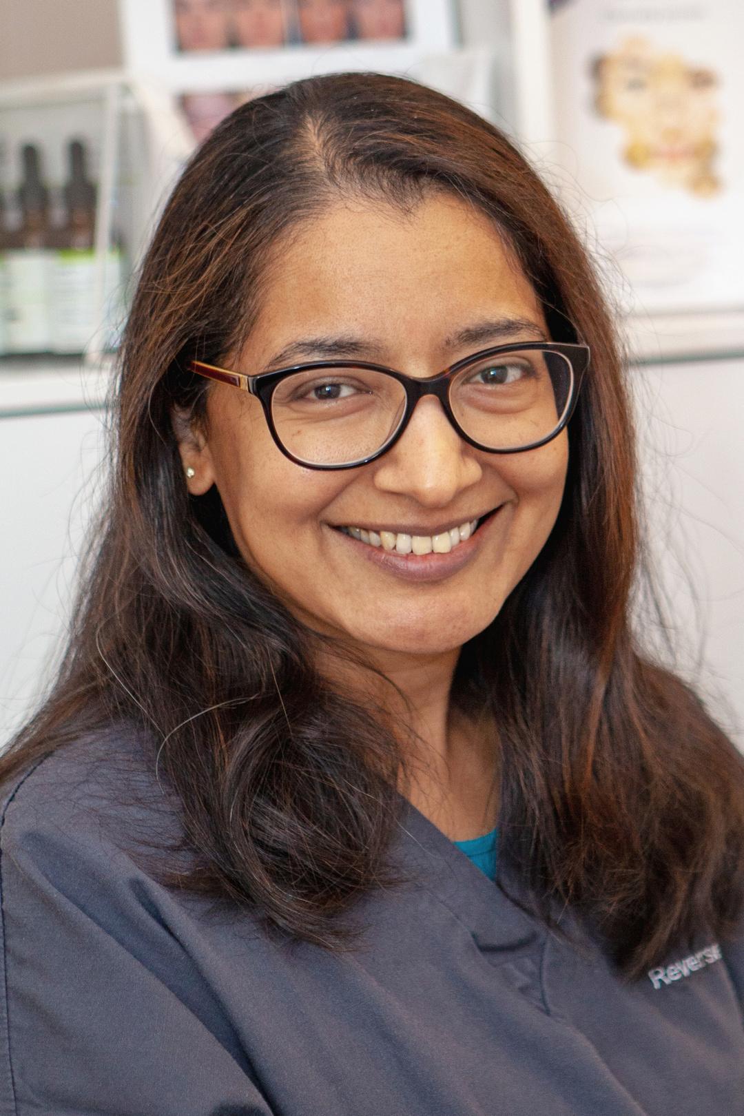 Dr Aarti Narayan-Denning, Reverse Time clinic