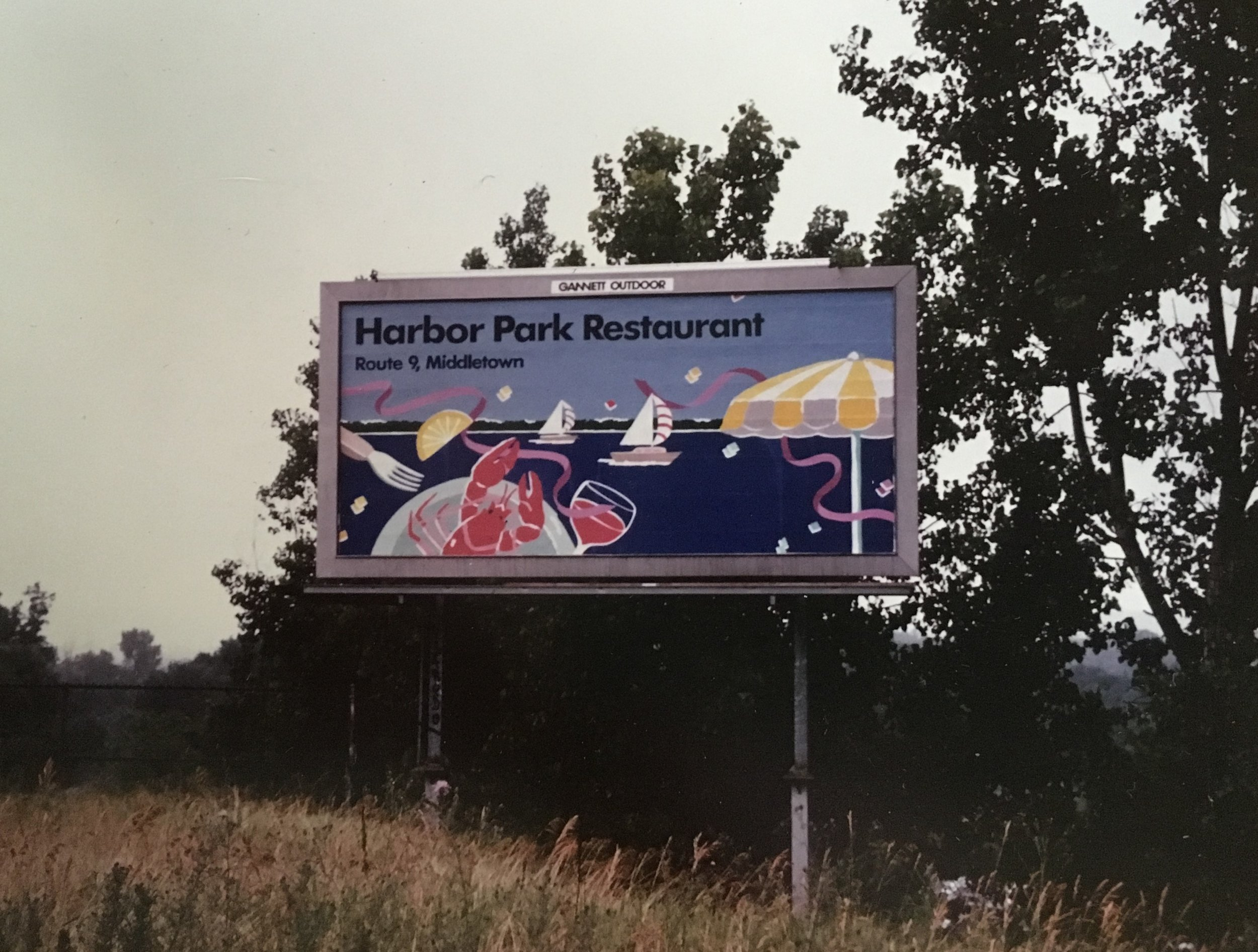 Restaurant Billboard