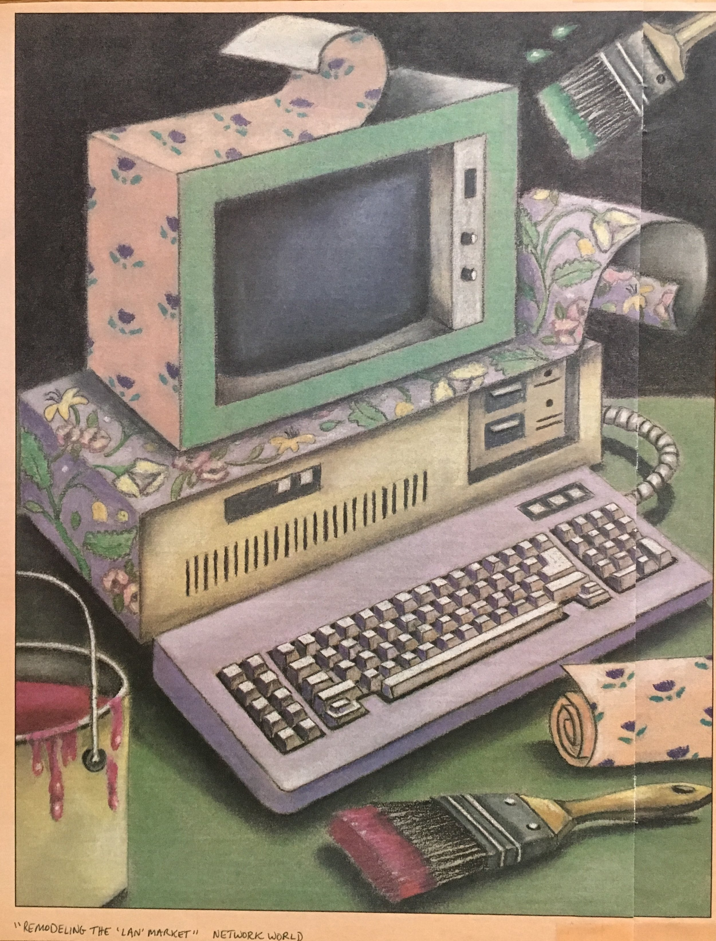 """Fixing UP PC"" Computer Magazine"