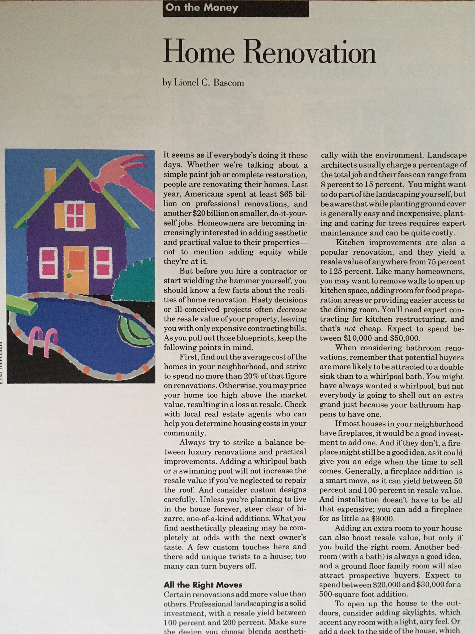 """""""Renovating House Payoff"""" CT Business Weekly"""
