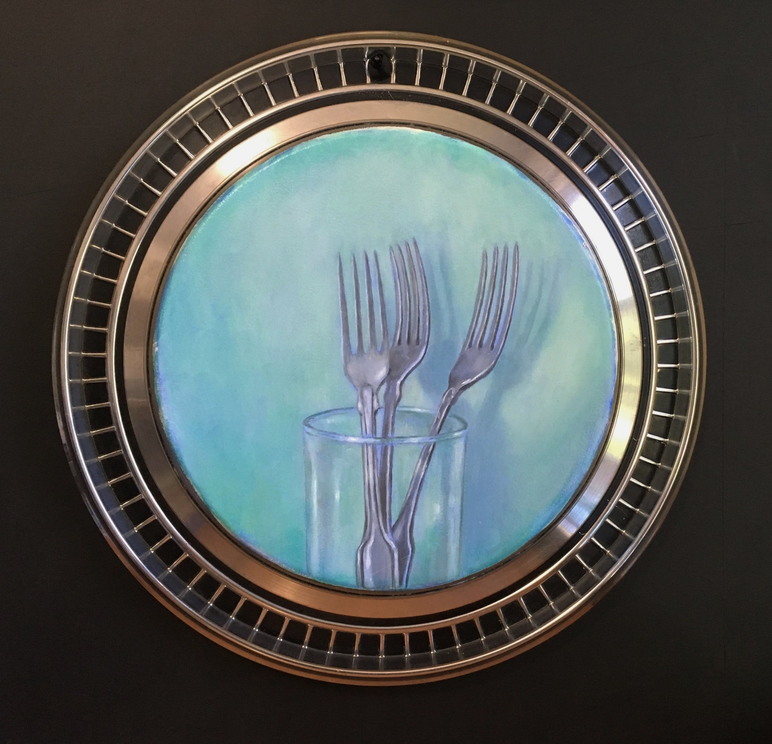 Forks and Glass