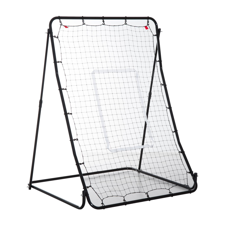 Baseball Sports Pitch Back Net Ball Rebounder Rebound Trainer Fielding Practice