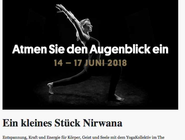 Yoga & Wellness @ The Cambrian Adelboden -