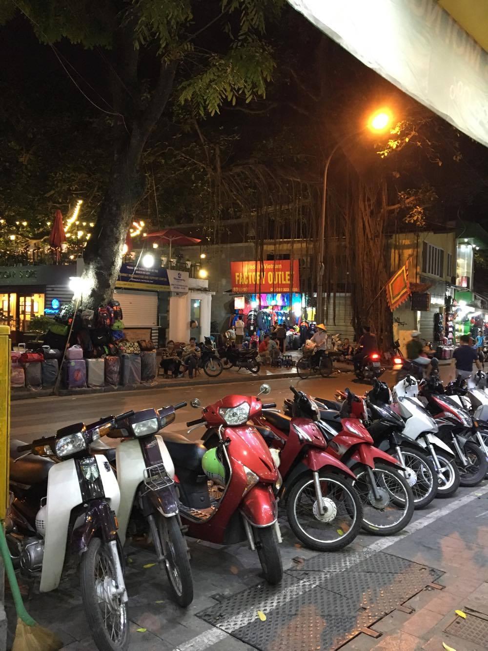 Yup, motorcycles everywhere!