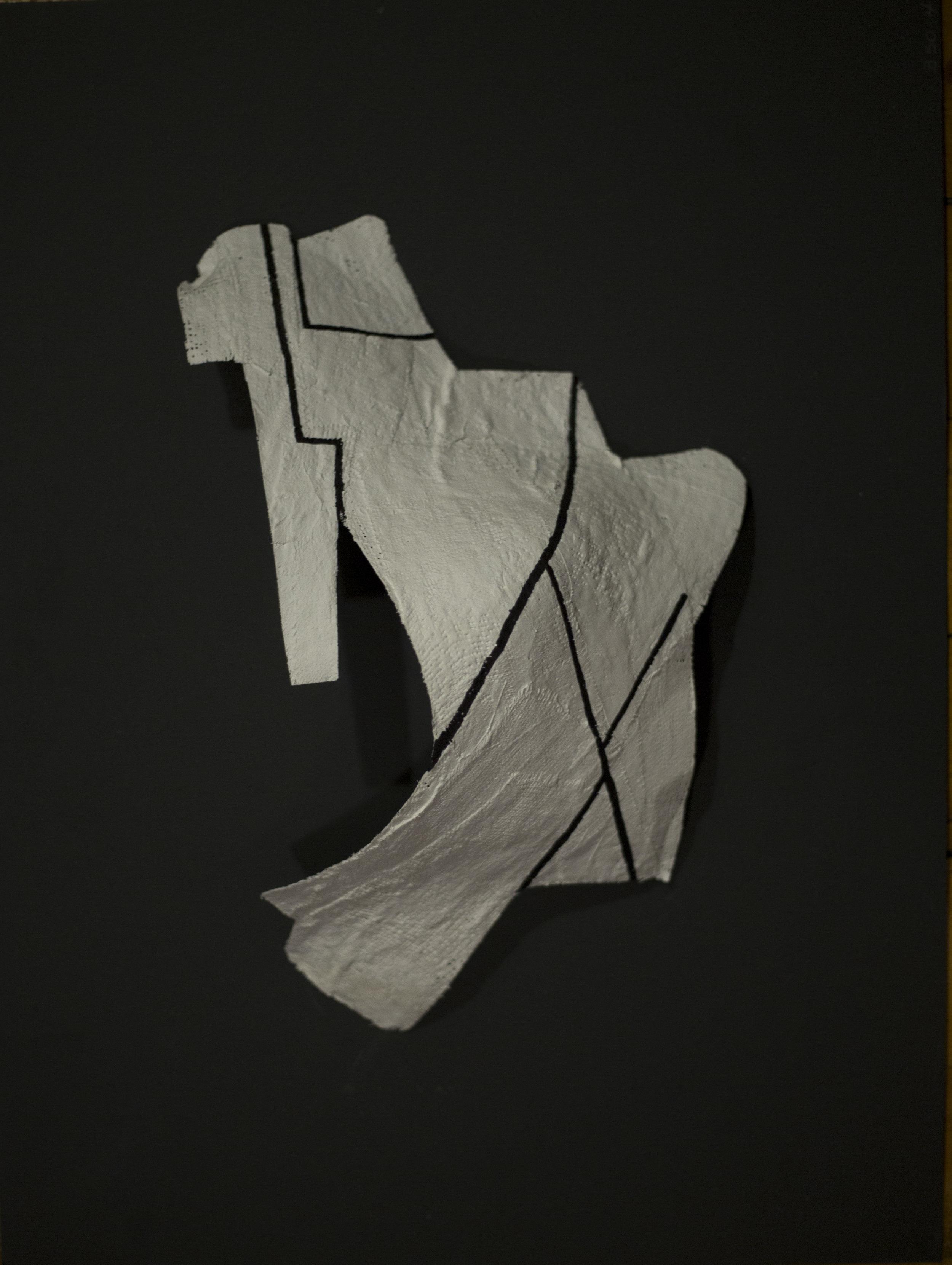 A Body Apart - plâtre, projet personel