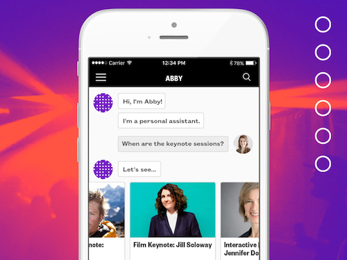 intelligent event app
