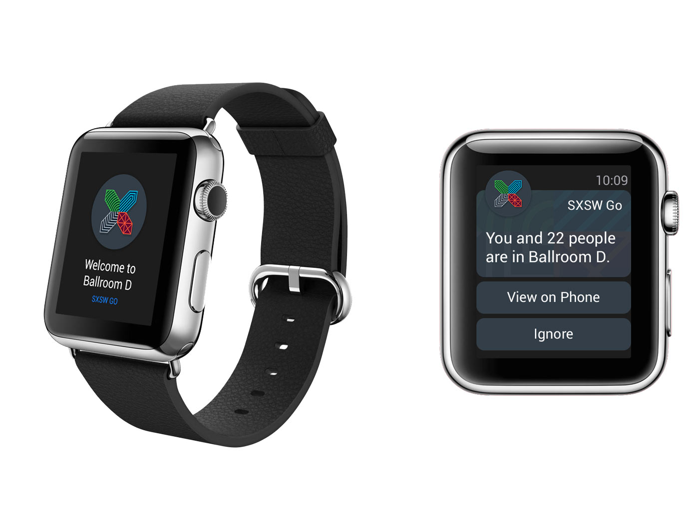 Event technology apple watch