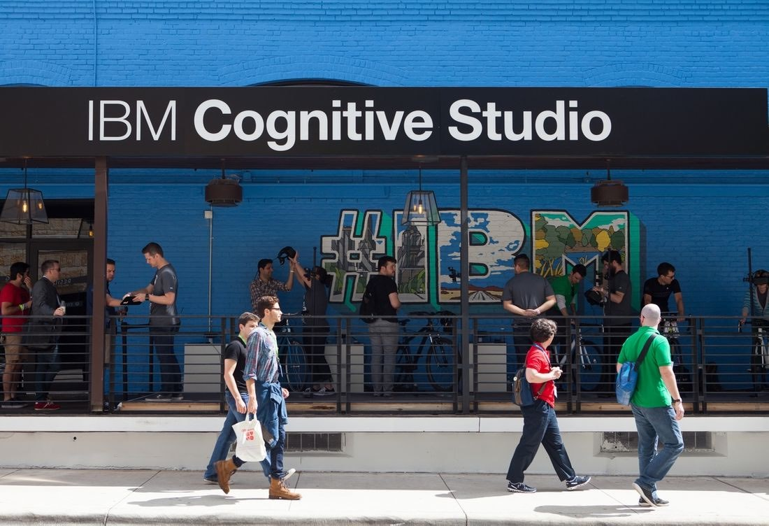 IBM Watson came to SXSW in this activation from GPJ. Image from    GPJ   .