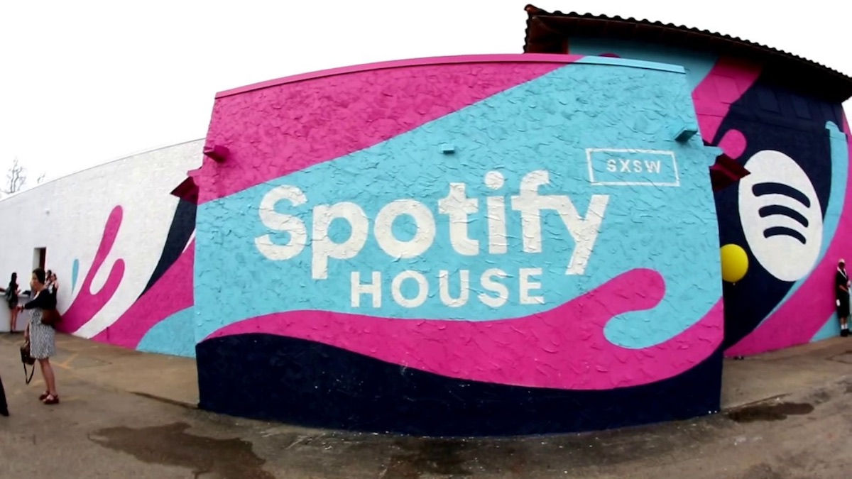 Spotify House delivered an excellent music experience at SXSW. Image from    YouTube   .