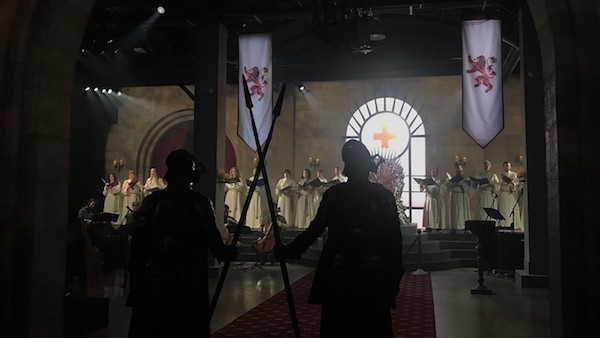 HBO and Red Cross teamed up to recreate Westeros at SXSW 2019. Image via    Mashable   .