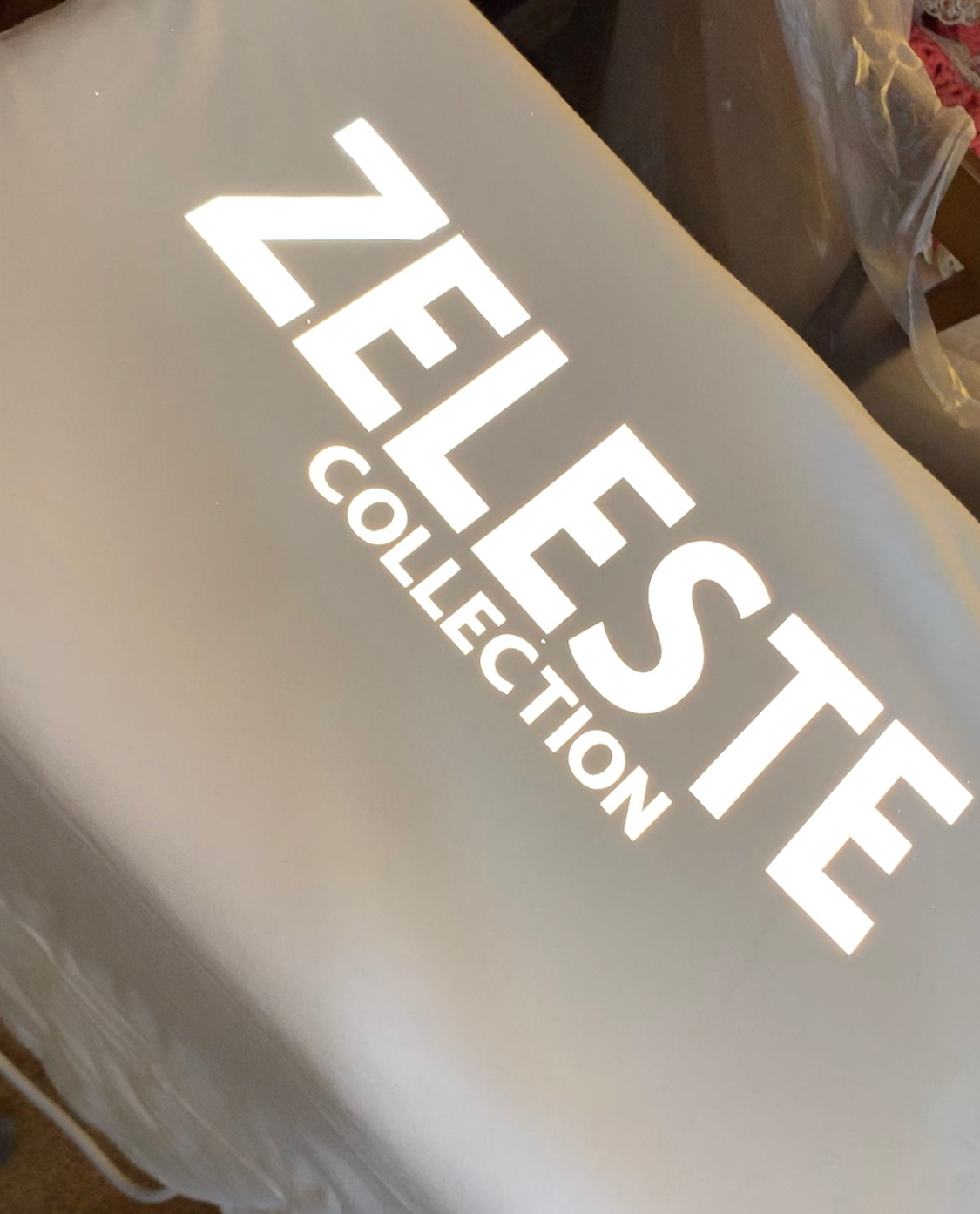 Reflective Zeleste Tees. - Limited sizes left.