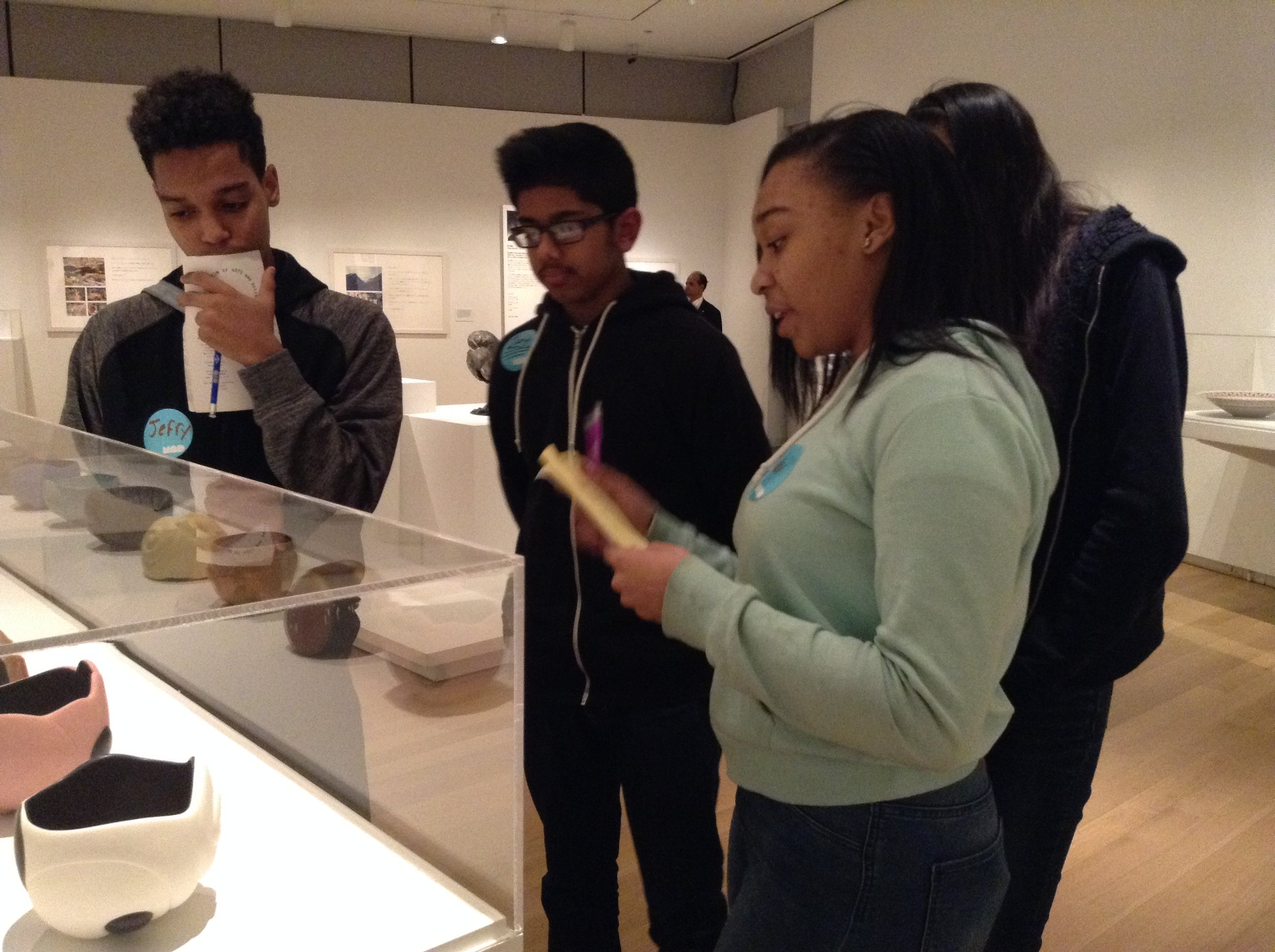 January 2016, Jefry and his team collecting information to use in the museum tour.
