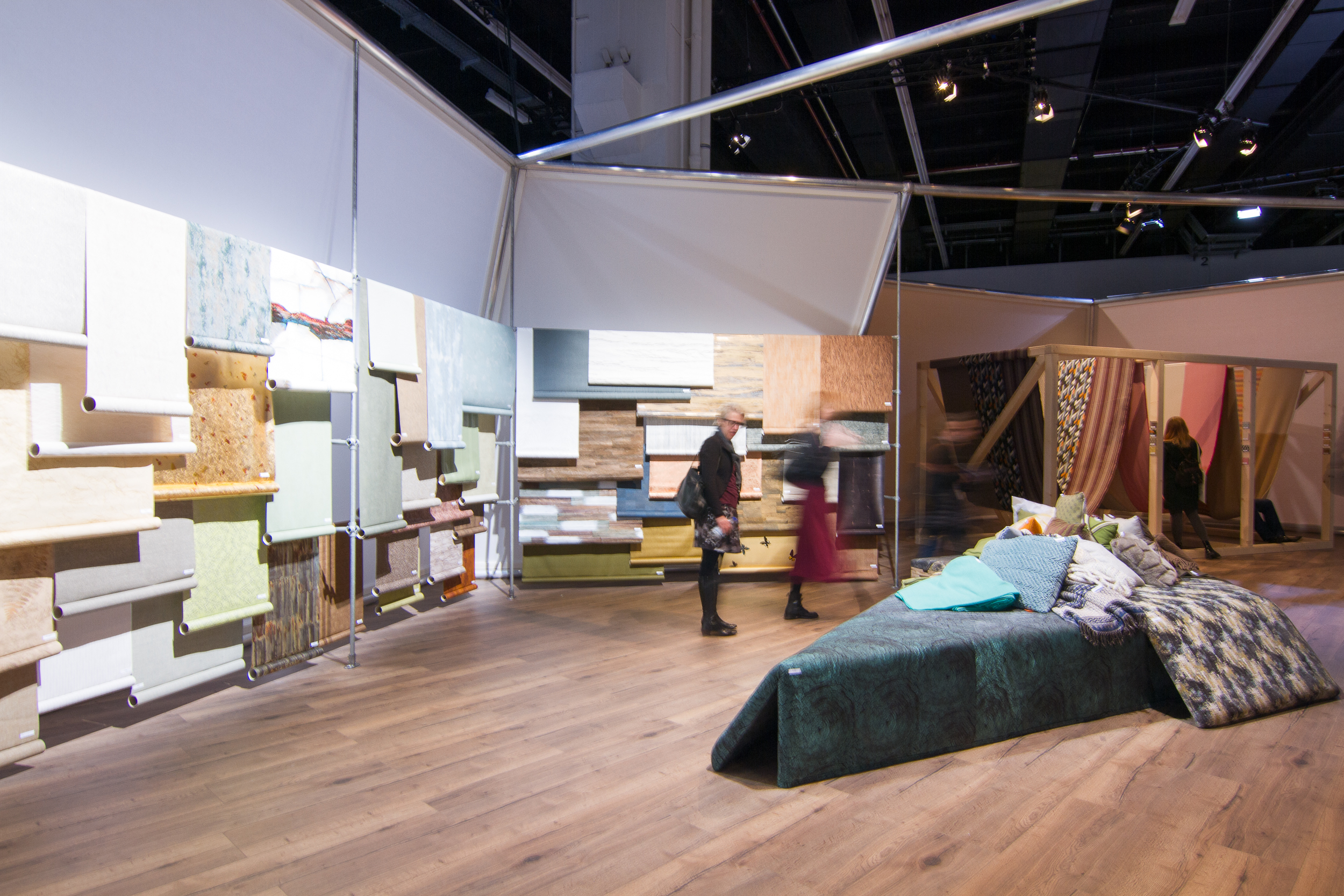 """Work & Home""  -  Heimtextil's Theme Park is organized into different experiential areas based on the trend forecasters' vision."