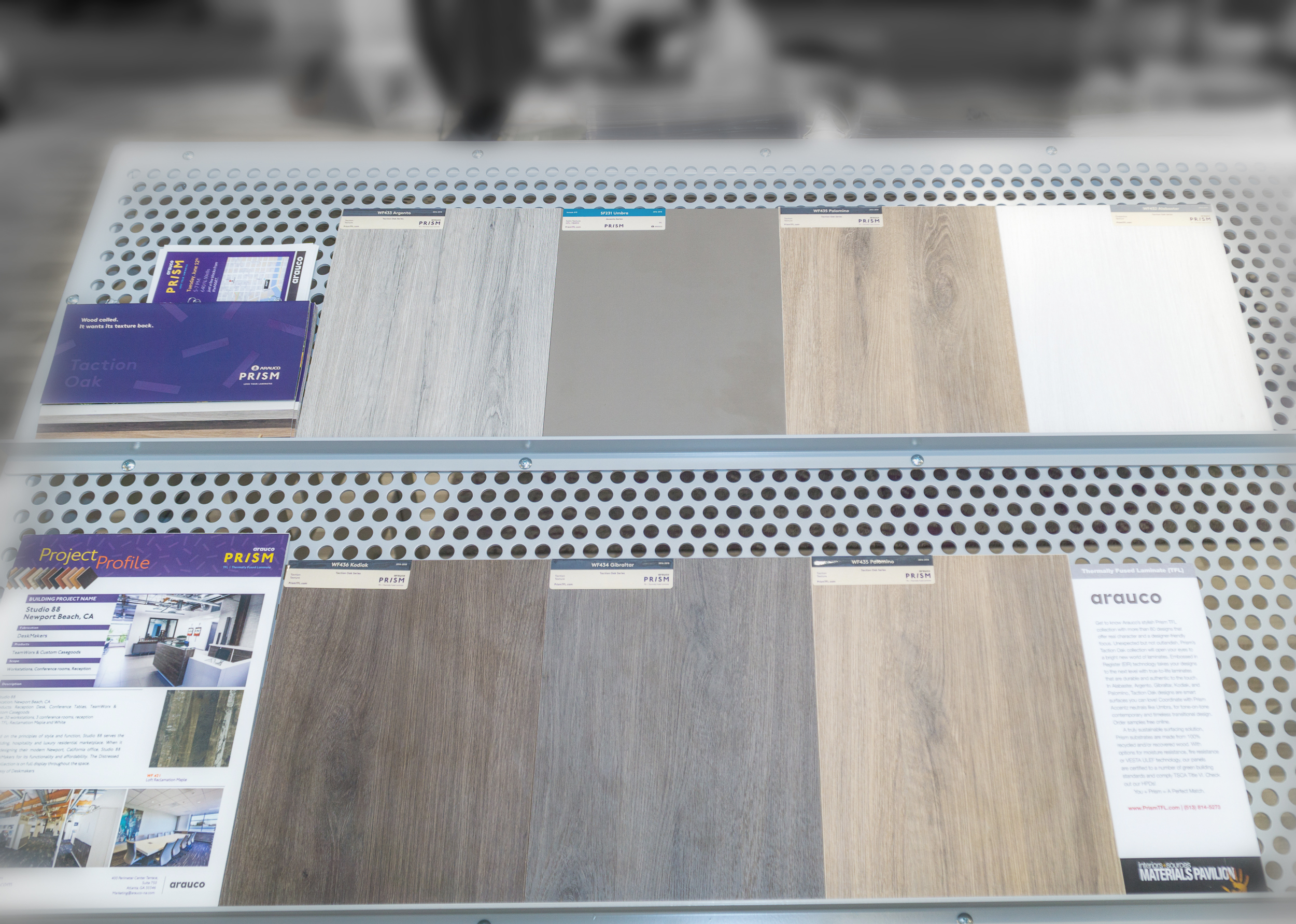 Arauco Prism TFL Decorative Panels   Learn more about TFL panels  here .