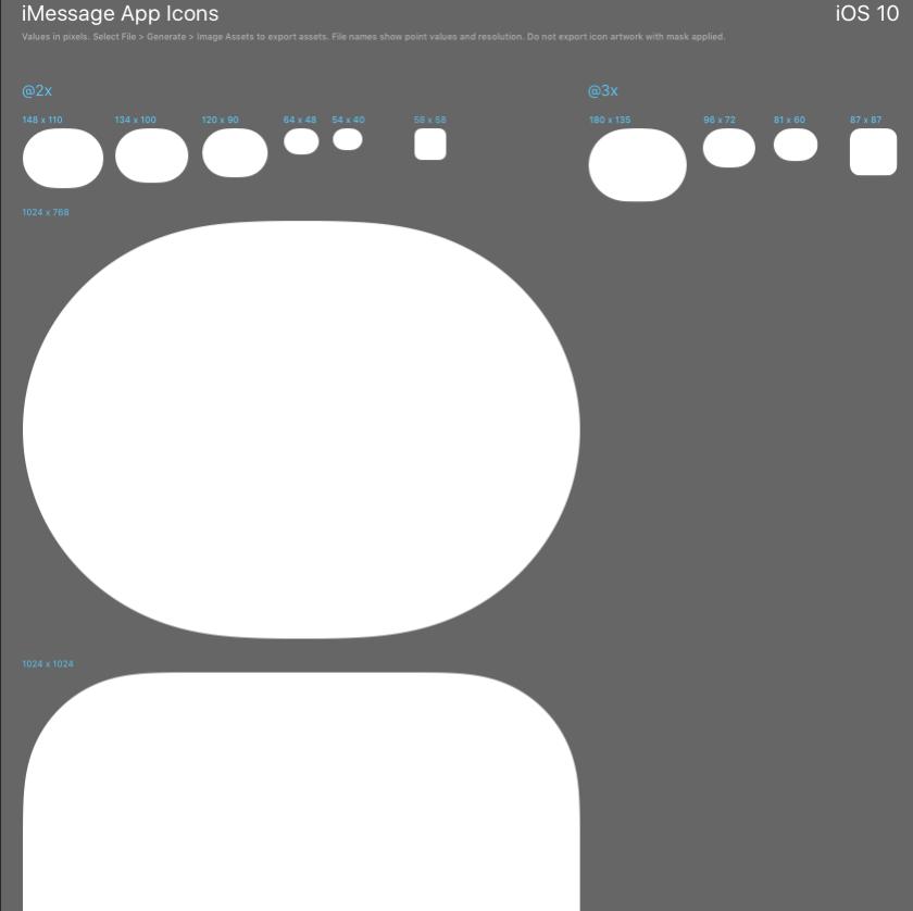 appicon template screenshot